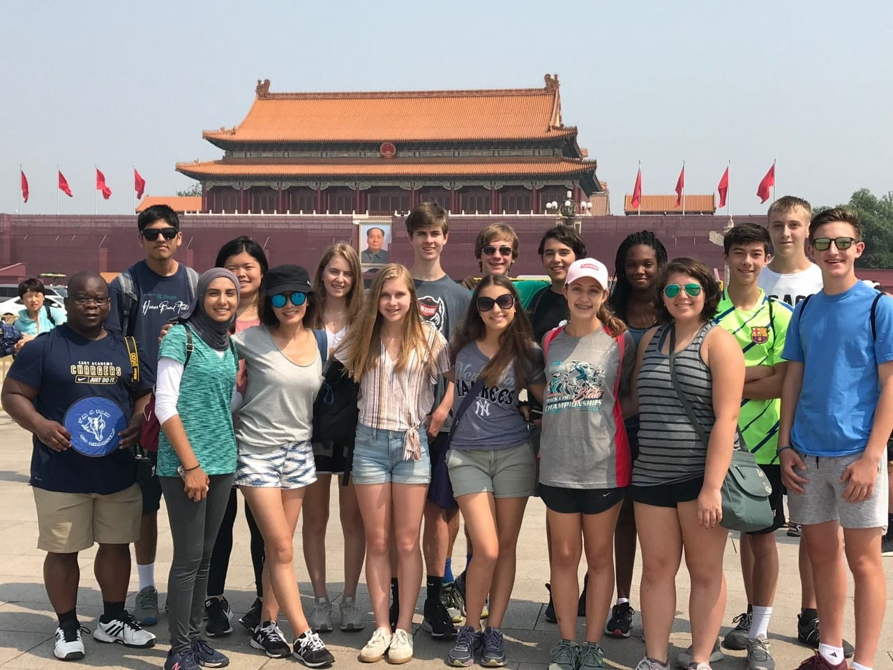 World Language trip to China