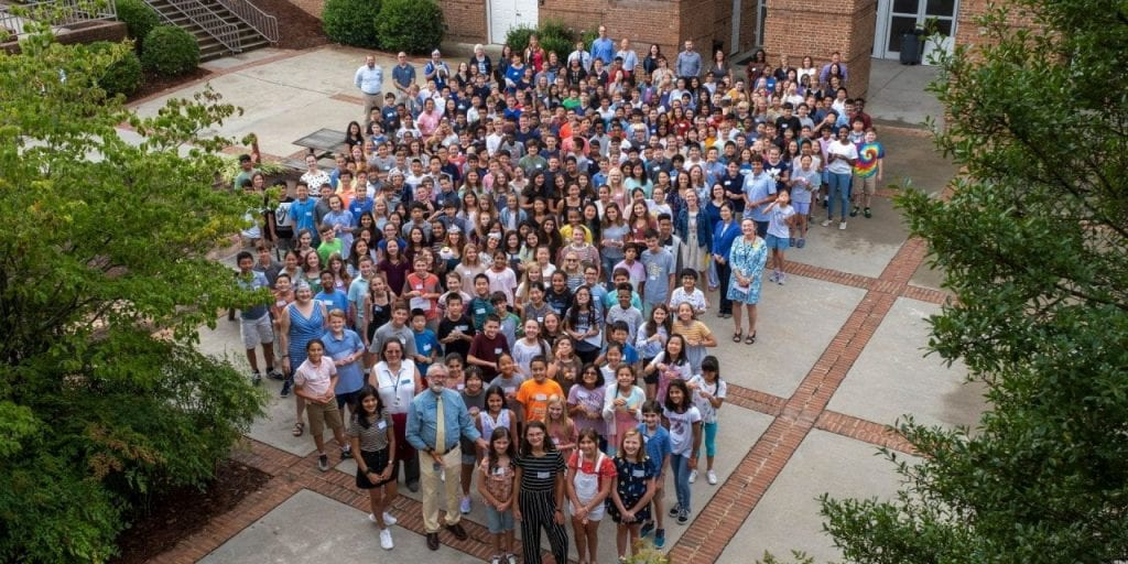 MS Student group photo
