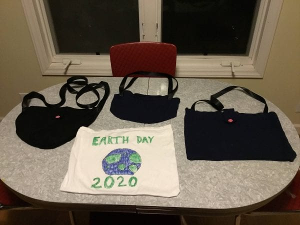 Earth Day - recycled bags