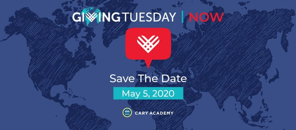 Giving Tuesday at Cary Academy